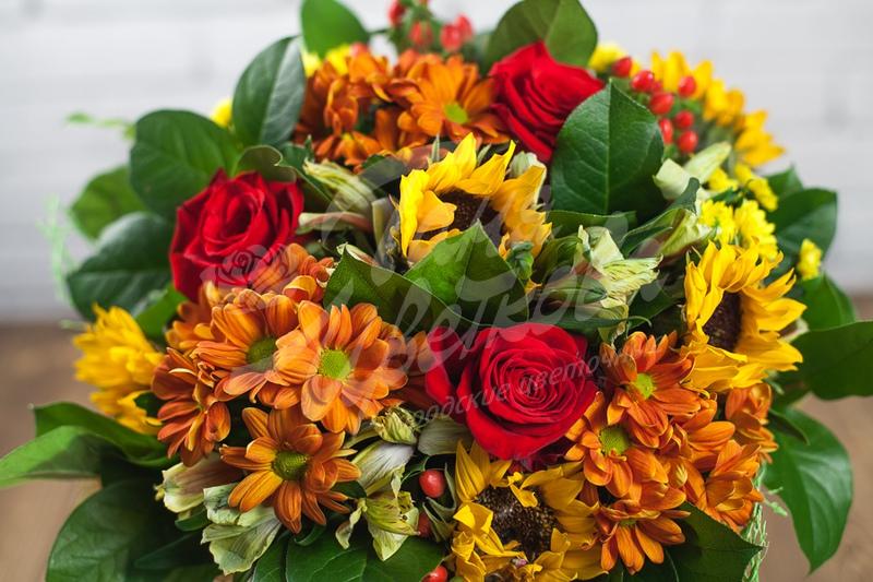 Цветы для первоклассника