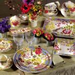 Красивая фарфоровая посуда