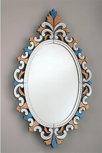 Зеркало из мурановского стекла