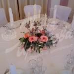 Праздничный стол с цветами