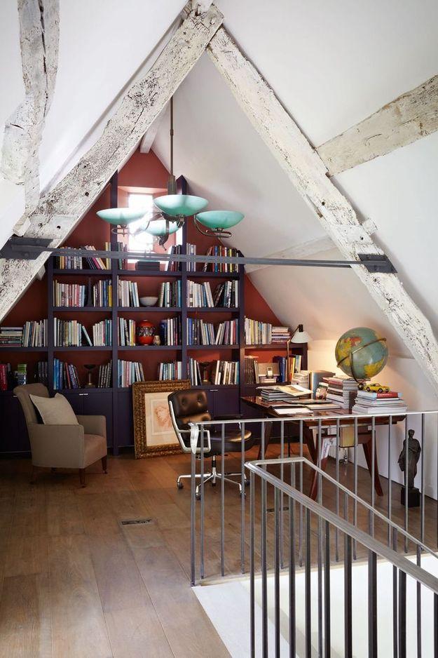 Оригинальное место для библиотеки