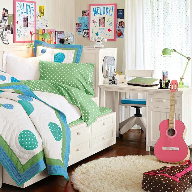 Идея детской комнаты для девочки