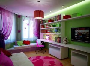 Идея гостиной-спальни