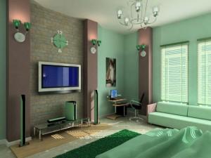 Вариант гостиной-спальни