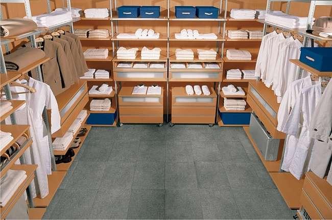 Вариант гардеробной комнаты