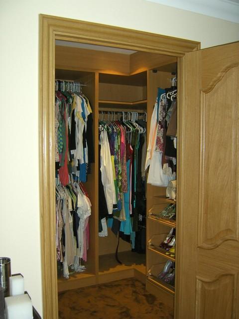 Кладовка под гардеробную
