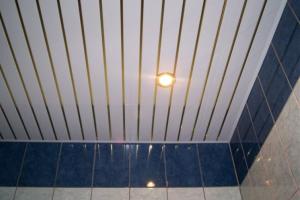 очечное освещение в подвесных потолках из ПВХ-панелей