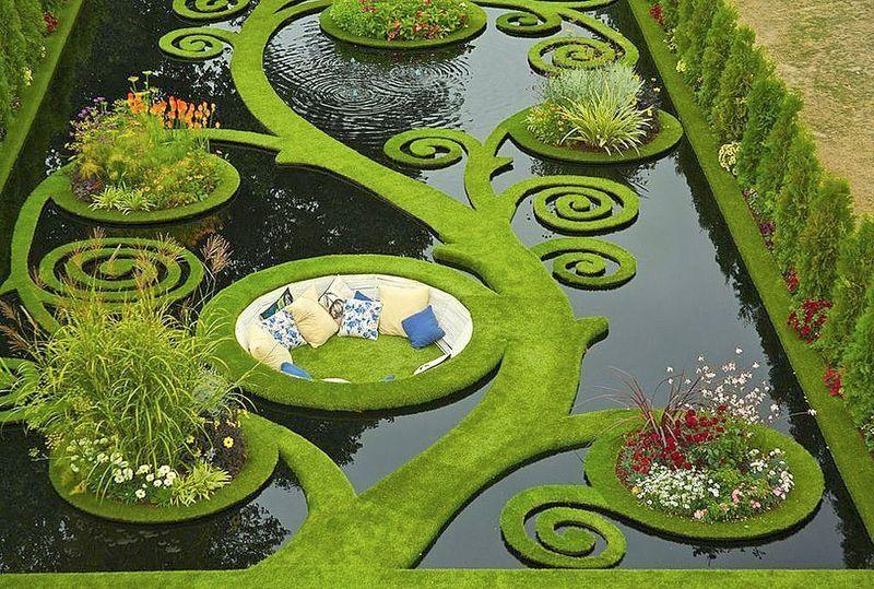 Плавающий сад