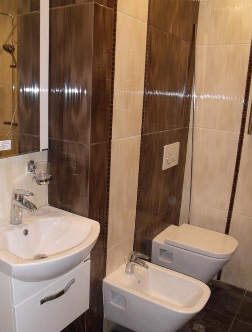 Лучший вариант отделки стен в ванной - керамическая плитка