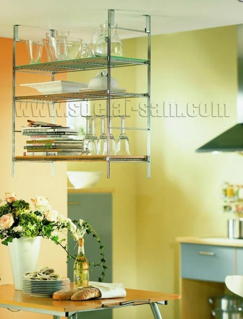 Оригинальным дополнением яляются столовые аксессуары из металла