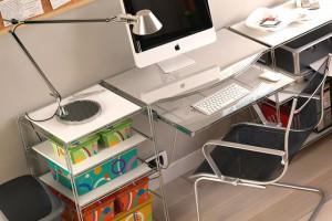 Размещение мебели в комнате для школьника