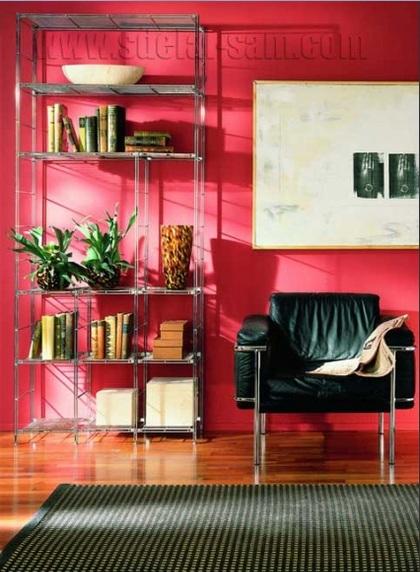 """Помещение выглядит """"легче"""" с мебелью из металла"""