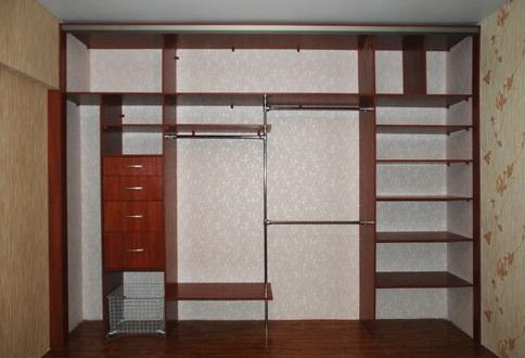 отделка стены внутри шкафа купе идеи для дизайна обустройство