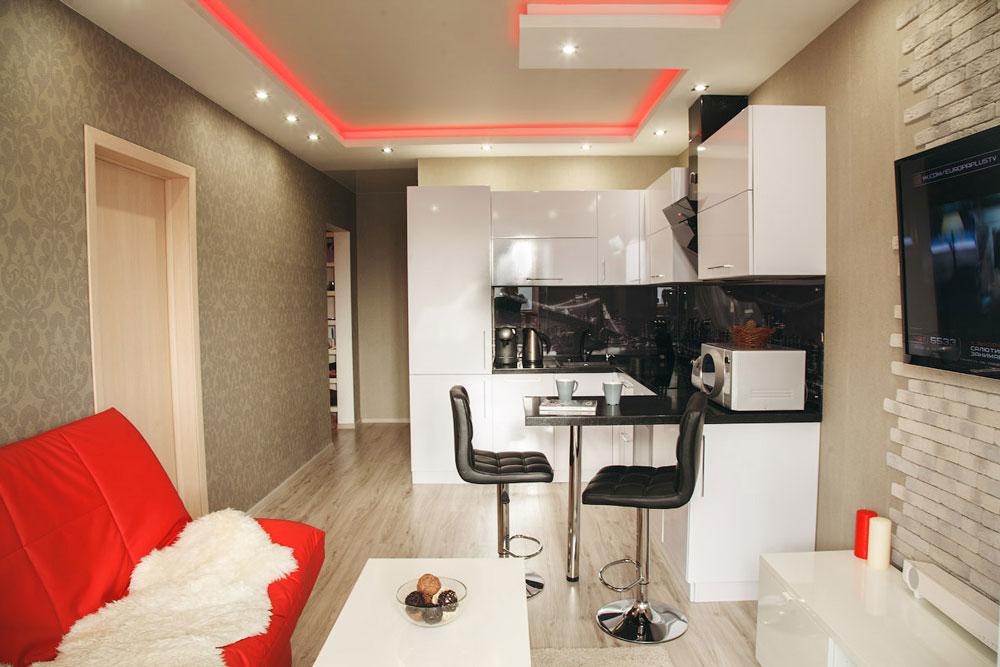 Дизайн маленьких квартир студий 16 кв м квадратов