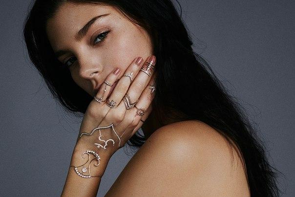 Masha Mardi - роскошный браслет-панжа