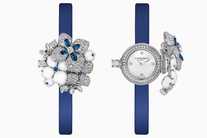 Часы с секретом «Voie Lact233;e» Chaumet Hortensia