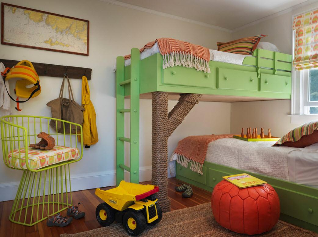 Экостиль – только натуральная древесина и текстиль