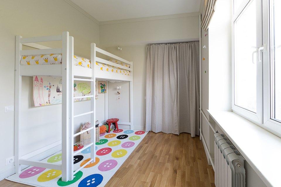 Кровать-чердак для малыша