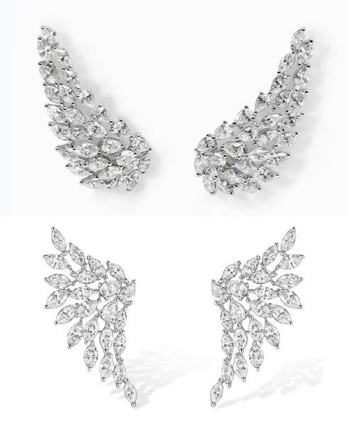 ebcf100cd9d3 Еще одна запоминающаяся линия - Diamants Celestes, посвященная  древнегреческим богам, увековеченным в звездах, и цивилизации Майя. Самые  яркие серьги в ней ...