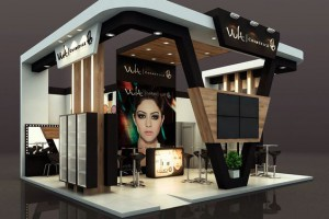 Экспозиция косметического бренда Vult