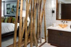 Бамбуковая перегородка