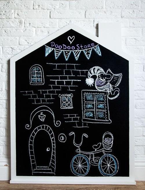 Доска-домик для творческого малыша
