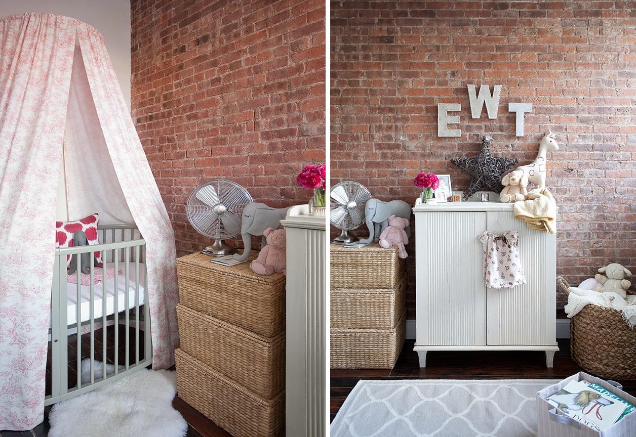 Комната малыша в стиле лофт