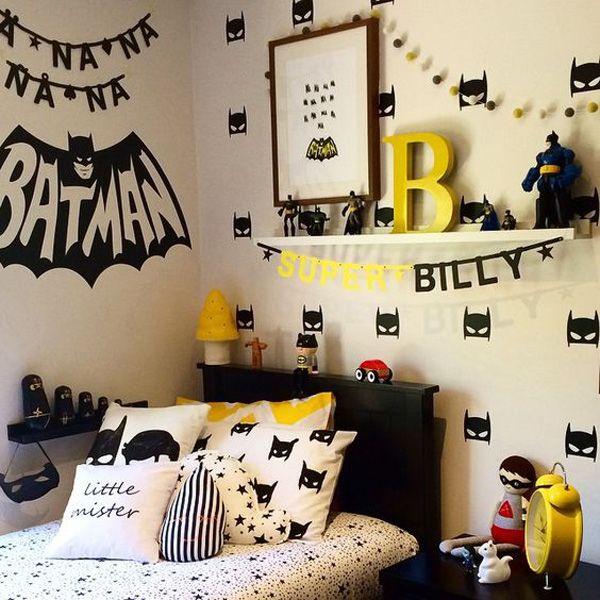 Интерьер для маленького Бэтмена