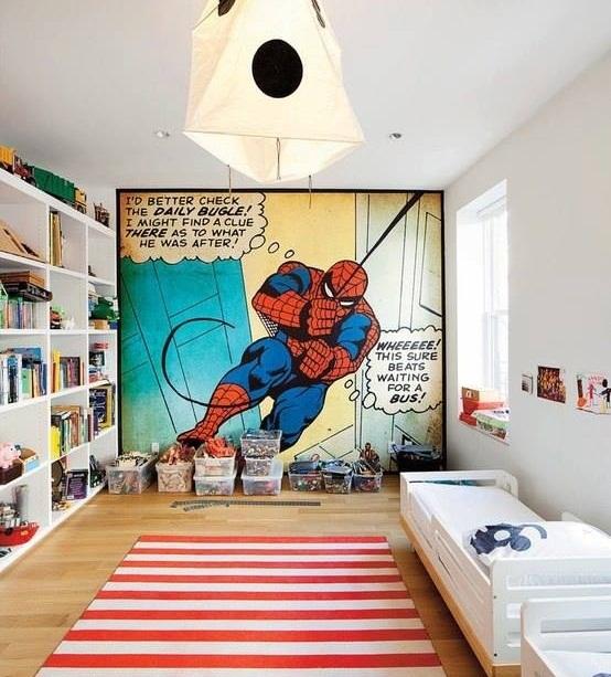 Детская комната Человека-паука