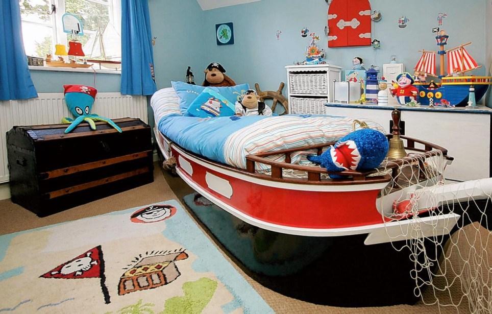 Пиратский дизайн для мальчика